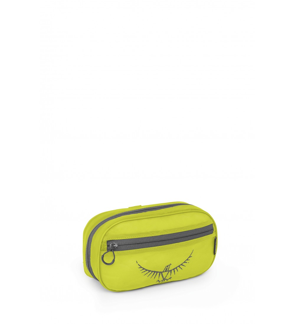 Ultralight Washbag Zip Electric Lime
