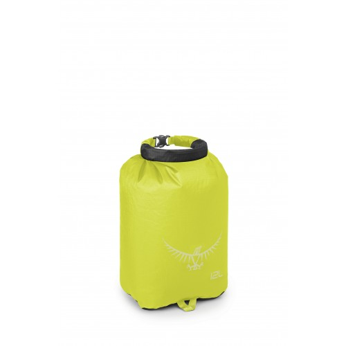 Ultralight Drysack 12L Electric Lime