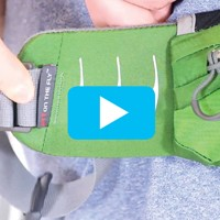 Fit-on-the-Fly™ adjustable hipbelt