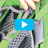 ExoForm™/BioStretch™ harness with load lifter 'bar'