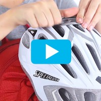 LidLock™ bike helmet attachment