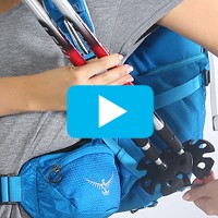 Stow-on-the-Go™ trekking pole attachment
